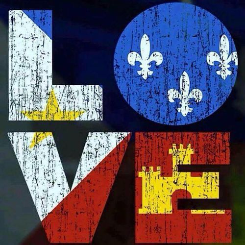 The Acadiana Flag + LOVE