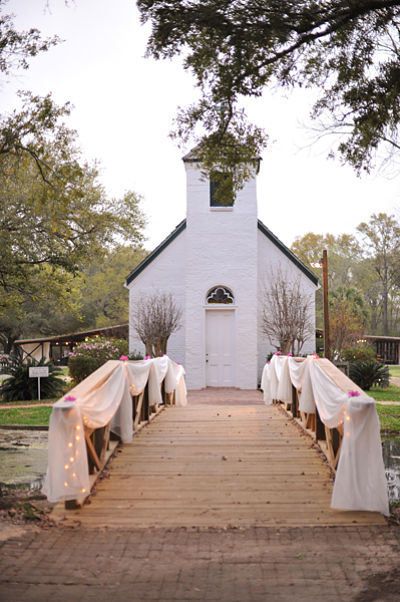 The chapel at Acadiana Village in Lafayette - a great venue for a wedding