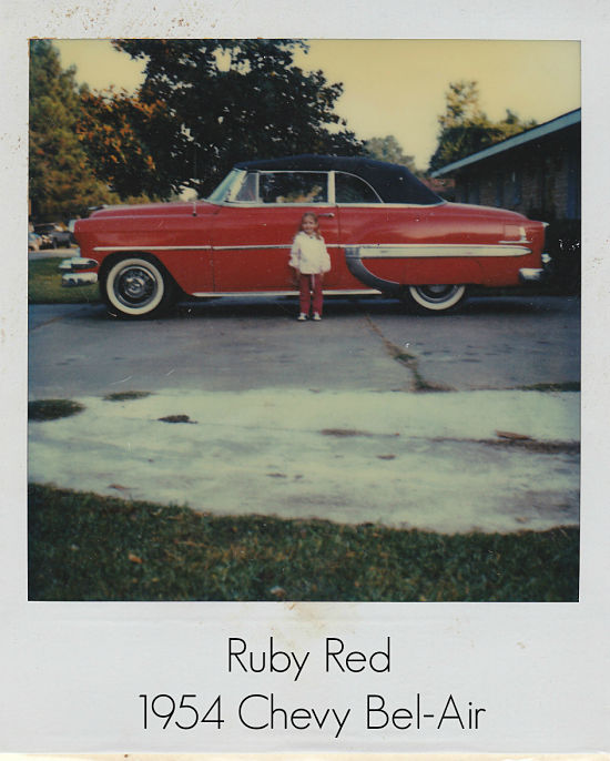 Ruby Red - the 1952 Bel-Air in all her glory