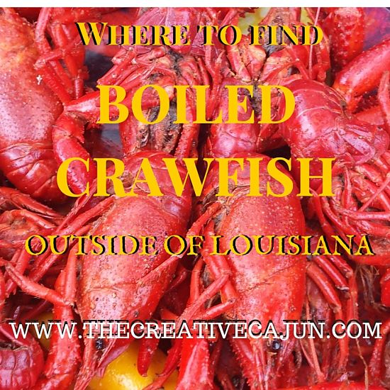 Where to find boiled crawfish