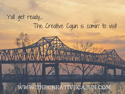 The Creative Cajun is comin' to visit_opt